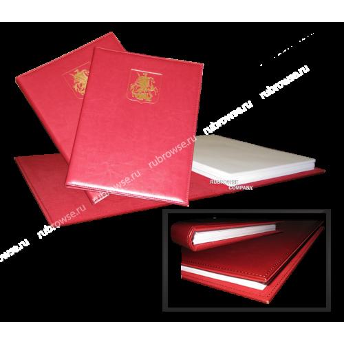 Папка с увеличенным мягким корешком под вместимость 3 см. Цвет на выбор.
