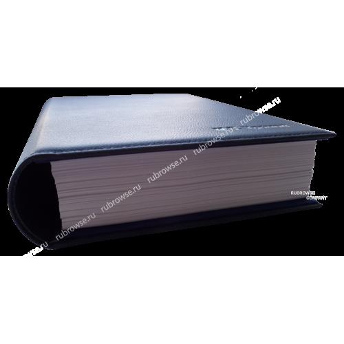 Папка с увеличенным мягким корешком под вместимость 5см. Цвет на выбор.