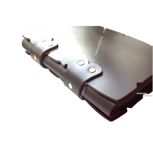 Папка Караоке из толстой вырубной кожи, с кольцевым (D) образным креплением файлов. Болтовое крепление (опция). Цвет на выбор.