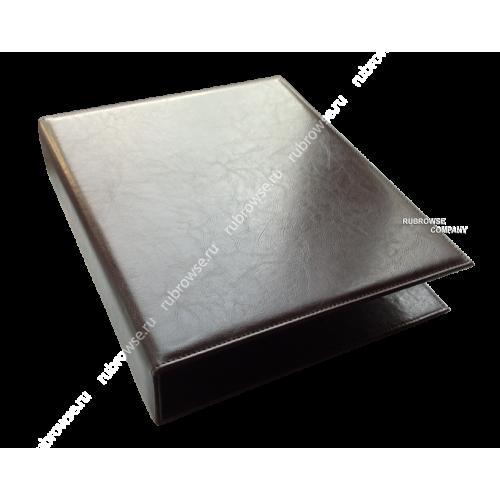 Папка Караоке. Кольцевое крепление с (D) образным механизмом и жестким корешком. Цвет на выбор.