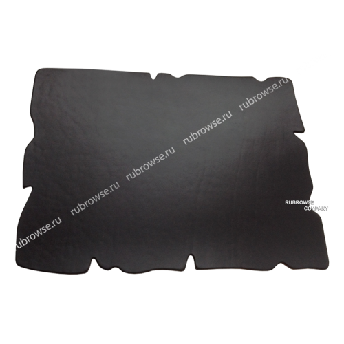 Подложка на стол из толстой кожи с резной кромкой. Индивидуальный размер и эскиз (опция). Цвет на выбор.