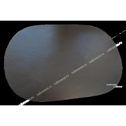 Подложка на стол овальной формы из толстой кожи. Индивидуальный размер (опция). Цвет на выбор.