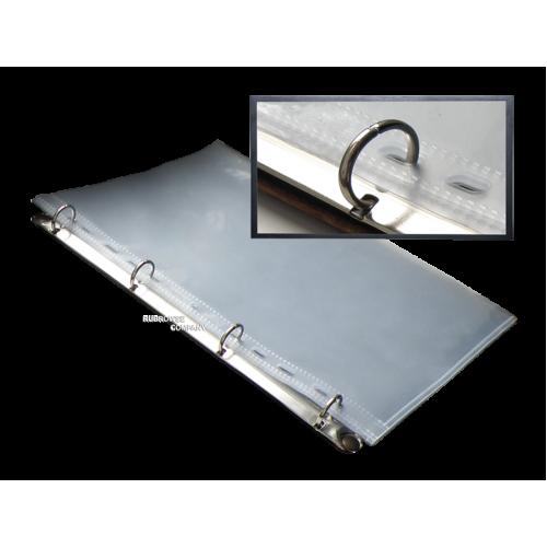Кольцевой механизм (скоросшиватель) с четырьмя кольцами 20 мм.